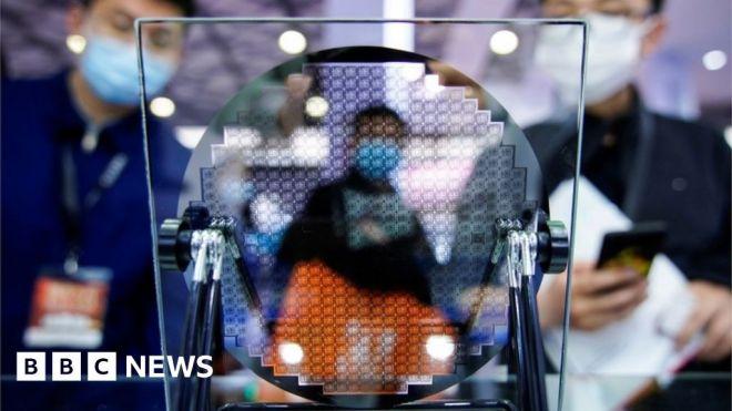 US Senate passes sweeping bill to counter China tech reach #world #BBC_News
