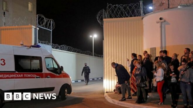 Belarus jails: Stories of fear and violence #world #BBC_News