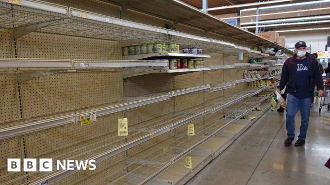 Texas weather: Water shortages continue to plague storm-hit south #world #BBC_News