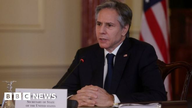 US-China relations: Blinken accuses China of acting more aggressively #world #BBC_News