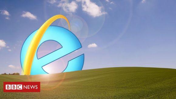 Microsoft anuncia o adeus final ao Internet Explorer - BBC News Brasil