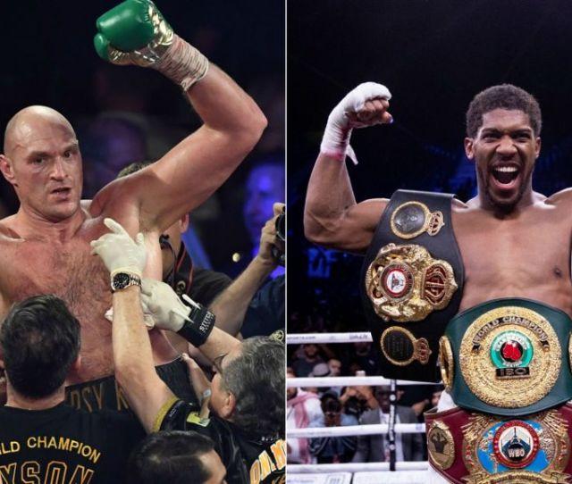 Tyson Fury V Anthony Joshua Biggest Fight In British History