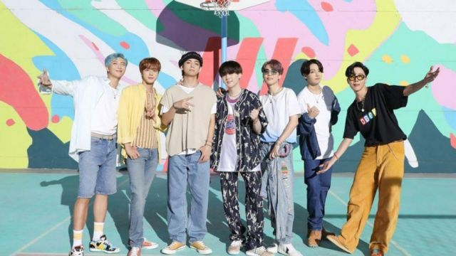 BTS's Dynamite shatters YouTube records - and heads for UK number one - BBC  News