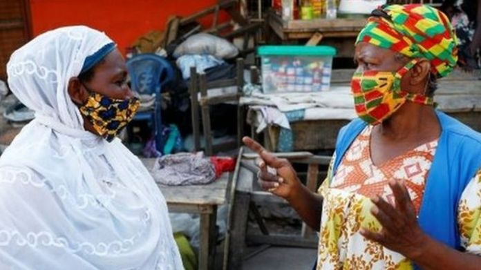 Coronavirus in Ghana: Online funerals, face masks and elections without  rallies - BBC News