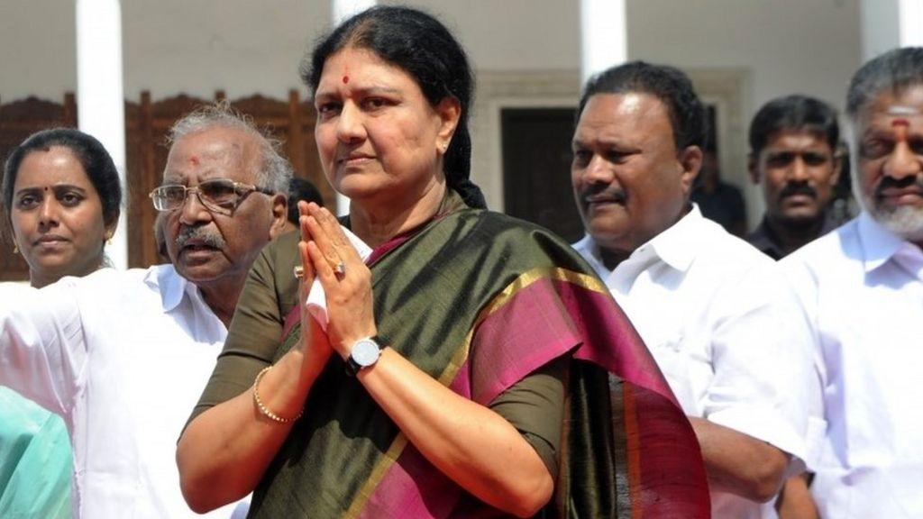 Sasikala: Conviction ends Jayalalitha aide's chief minister bid - BBC News