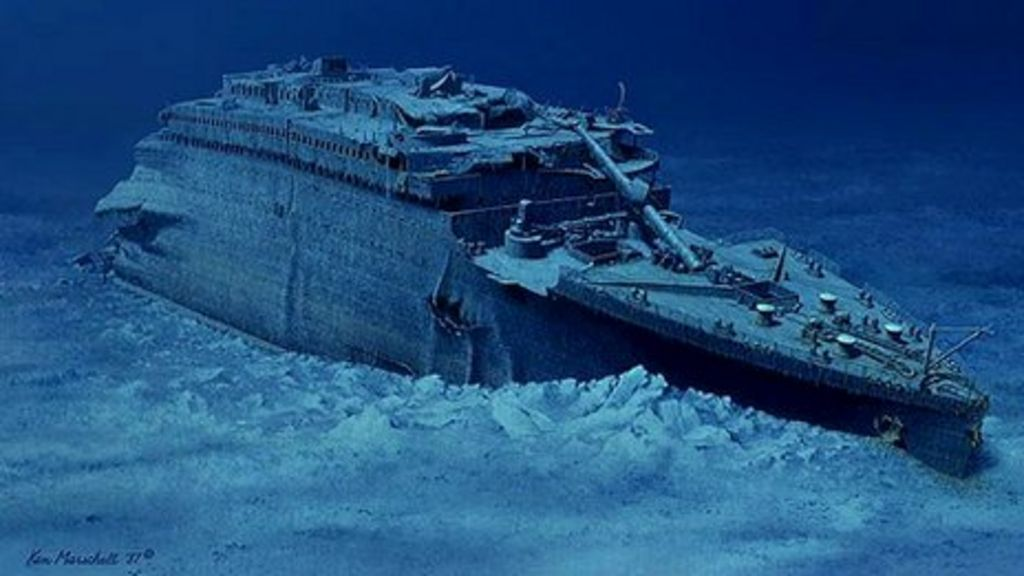 Resultado de imagen de Titanic fondo del mar