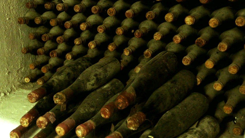 The Wine Collection With A Nazi Past Bbc News