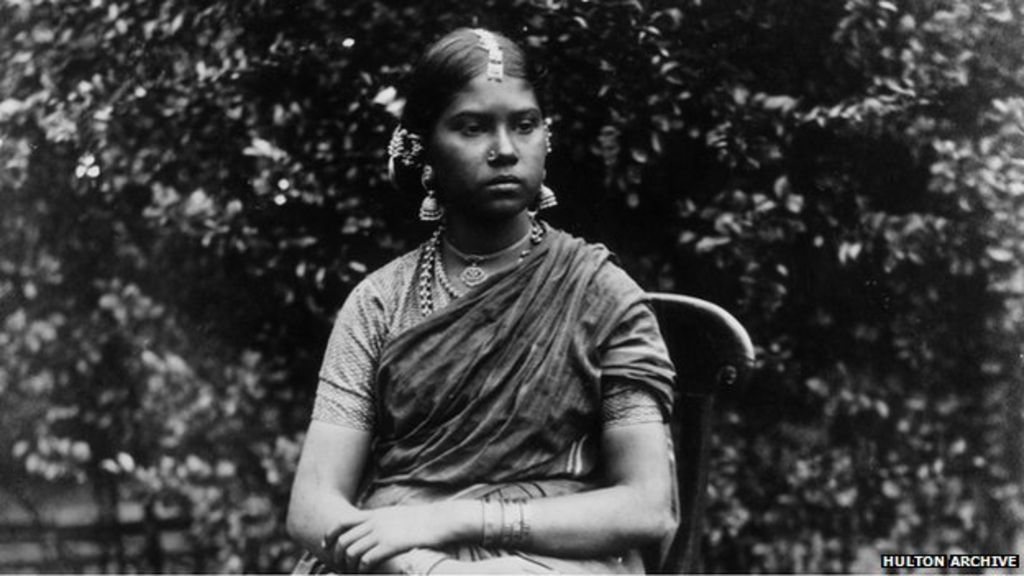 Dressing The Indian Woman Through History BBC News