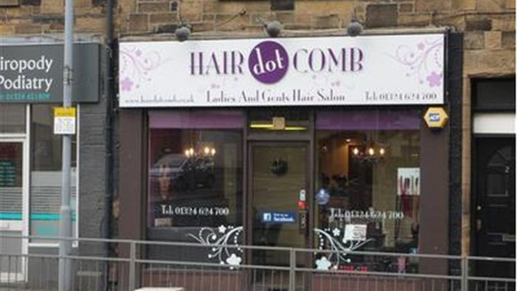 What Is Scotlands Punniest Shop Name BBC News