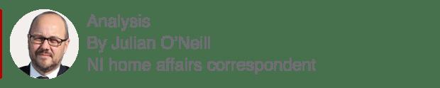 Analysis box by Julian O'Neill, NI home affairs correspondent