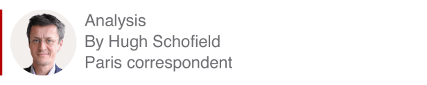 Analysis box by Hugh Schofield, Paris correspondent