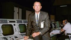 Chris Kraft at work at Nasa
