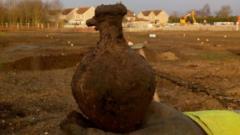 Roman jug, Warboys dig