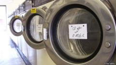 Commercial washing machines (Image: Flickr/Trepulu)