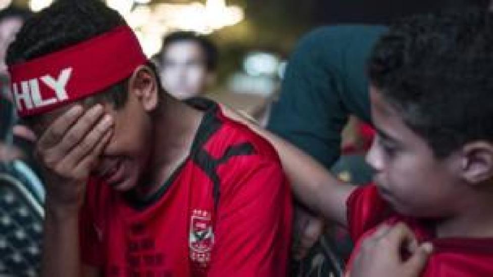 مشجعو الأهلي المصري