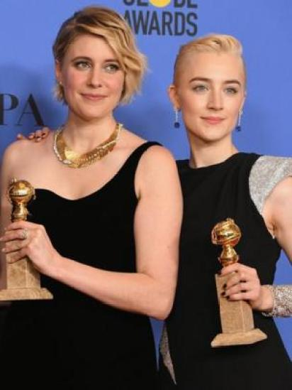 Greta Gerwig y Saoirse Ronan, Lady Bird