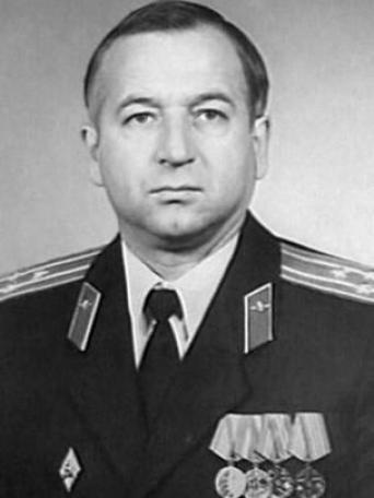 Undated image taken from the internet of Sergei Skripal in uniform.