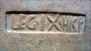 Stamp of Legion IX Hispana