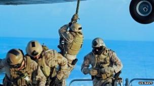 US Navy Seals. File photo