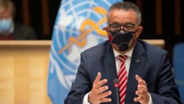 WHO head Tedros Adhanom Ghebreyesus (file photo)