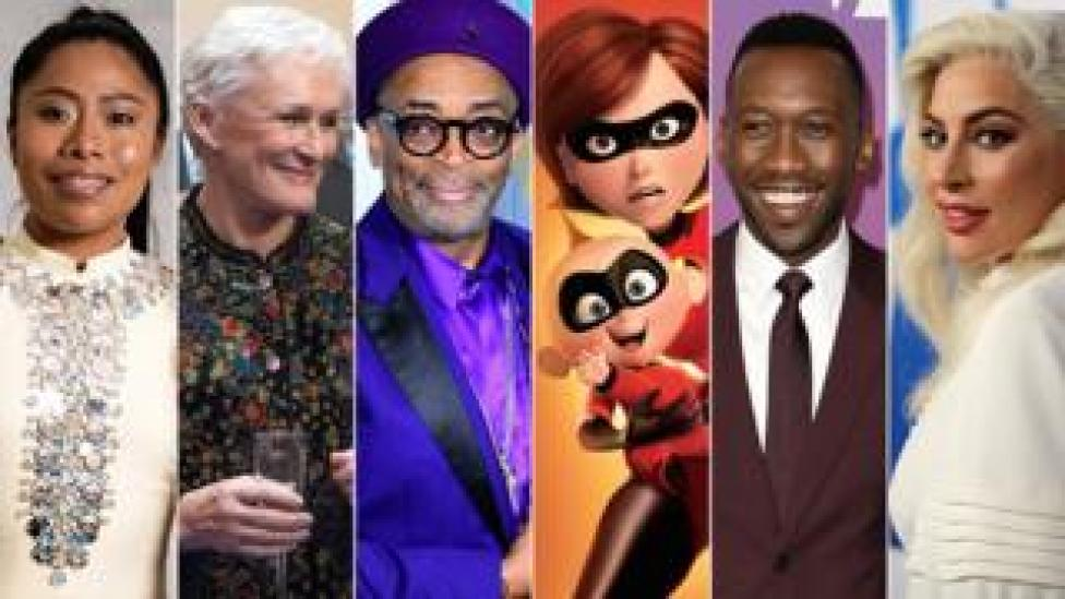 Yalitza Aparicio, Glenn Close, Spike Lee, The Incredibles, Mahershala Ali and Lady Gaga