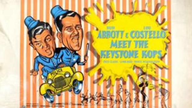 Poster for Abbott & Costello Meet The Keystone Kops