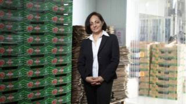 Nimisha Raja, chief executive and founder of Nim's Fruit Crisps