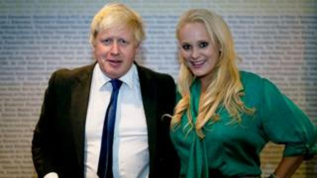 Boris Johnson and Jennifer Arcuri