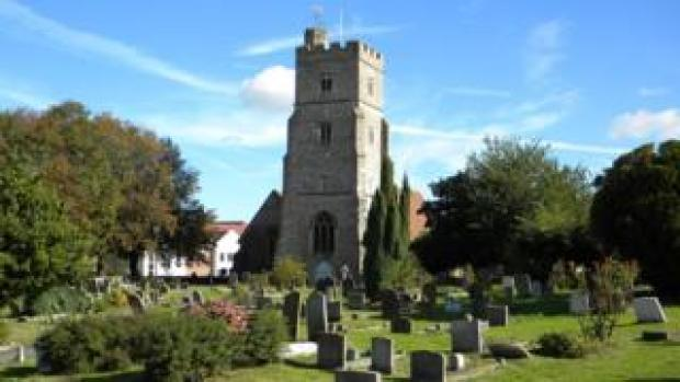 St Margaret's Church in Rainham