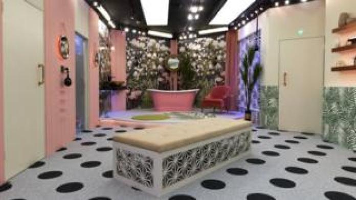 The bathtub in the Celebrity Big Brother 2018 house