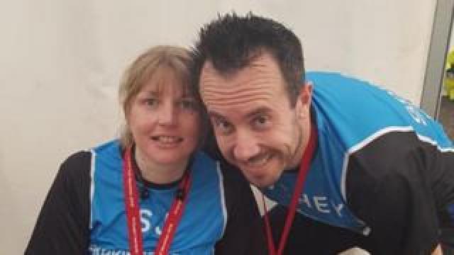 Sarah-Jayne and Steven Roche