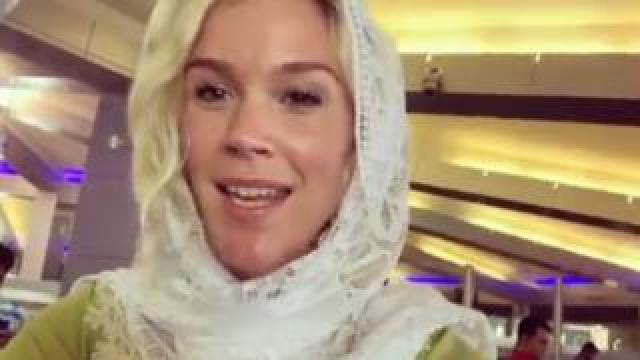 Still from video posted by Joss Stone on Instagram on 3 July 2019