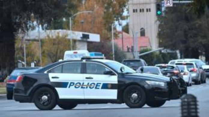 Bakersfield police vehicle