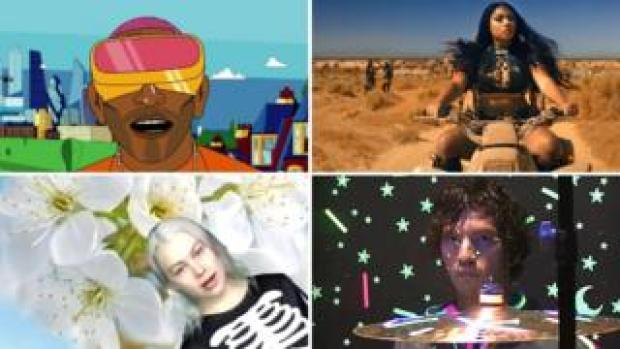 Music videos by Tinie Tempah, Megan Thee Stallion, Phoebe Bridgers and Twenty One Pilots