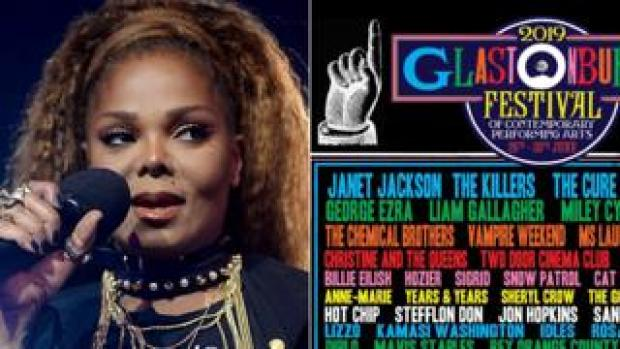 Janet Jackson and the new poster version