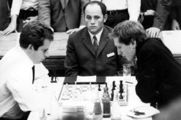 Boris Spassky and Bobby Fischer