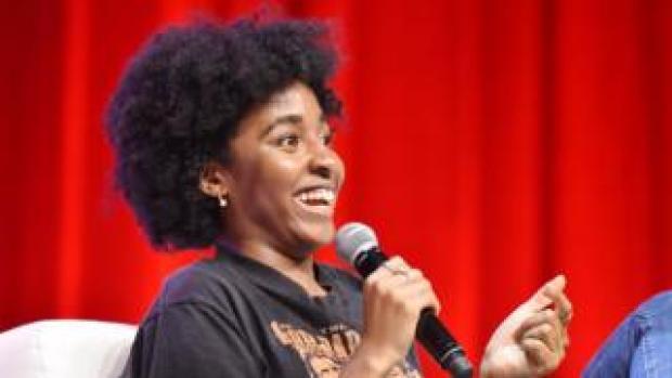 US comedian Ayo Edebiri