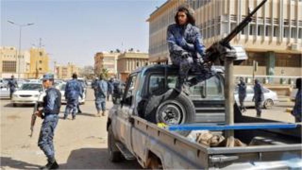 Haftar's forces in Sebha, southern Libya
