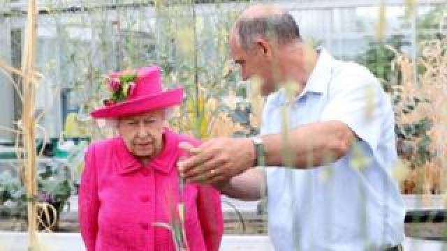 The Queen at NIAB in Cambridge, 9 July 2019