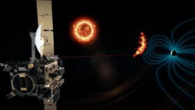 Lagrange would help estimate the arrival time of a solar storm