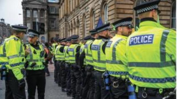 police scotland officers