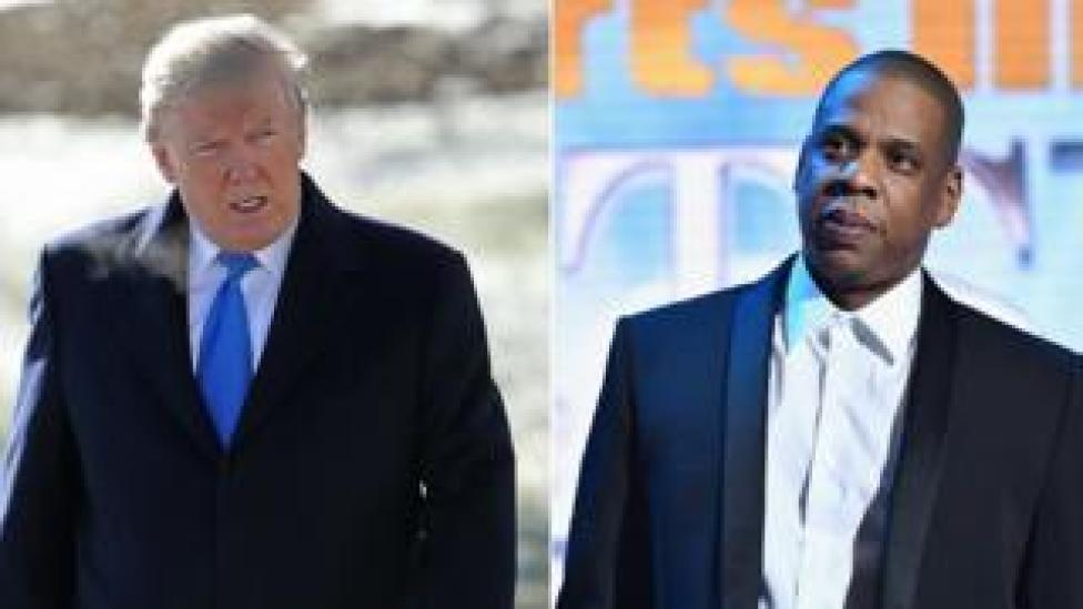 President Trump Hits Back At Singer Jay-Z Over 'Superbug' Comments
