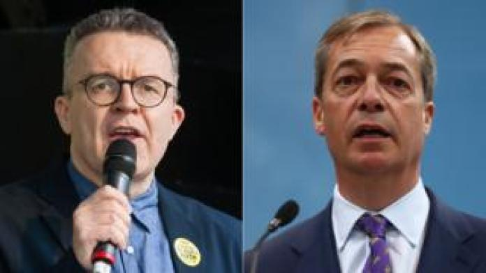 Tom Watson and Nigel Farage