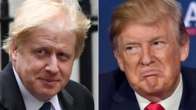 Boris Johnson/Donald Trump