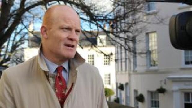 Guernsey Chief Minister Gavin St Pier