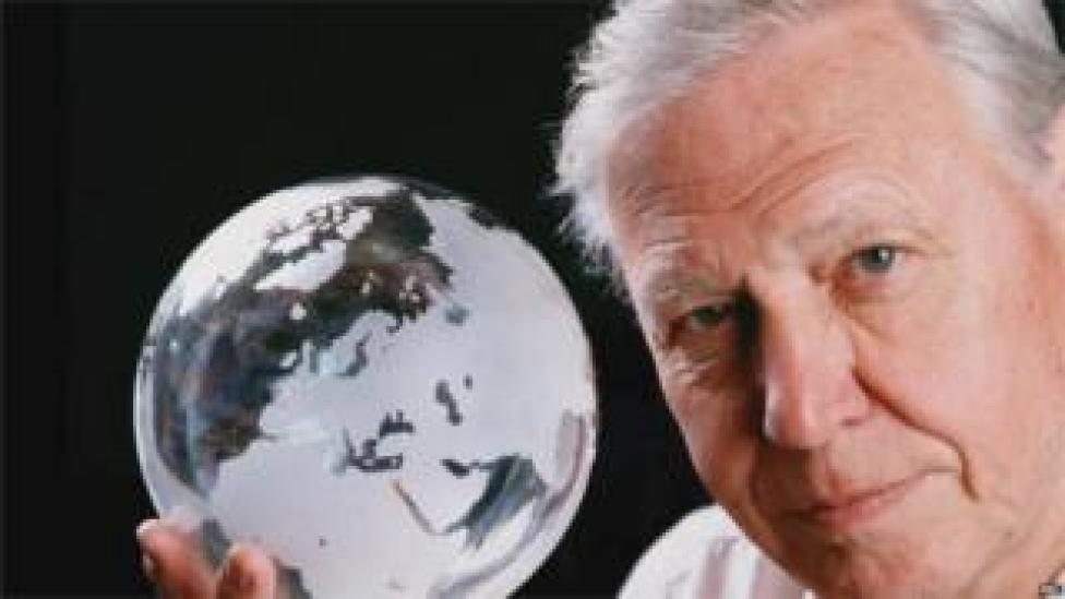 University College Cork - Sir David Attenborough (Image: BBC)