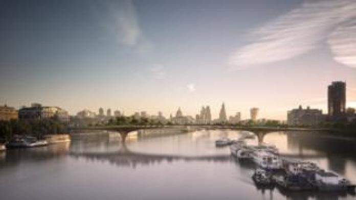 Garden Bridge plan