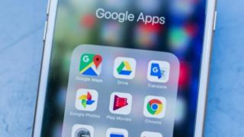 Google Photos app on a phone