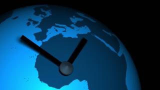 Earth as a clock