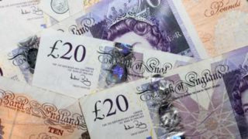 British pound bank notes